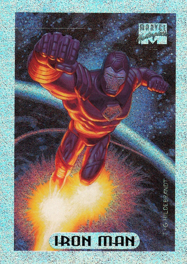 1994 Marvel Masterpieces Holofoil #05 (1)