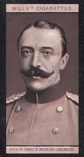 1908 Wills European Royalty #061 (1)