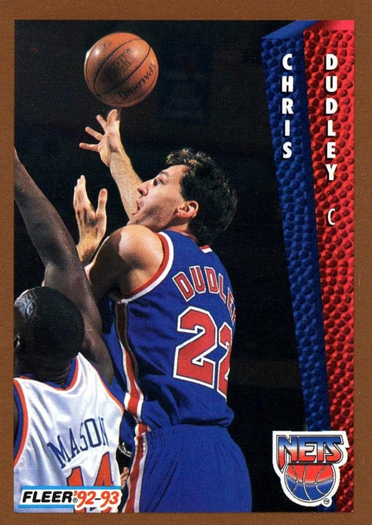 1992-93 Fleer #387 (1)