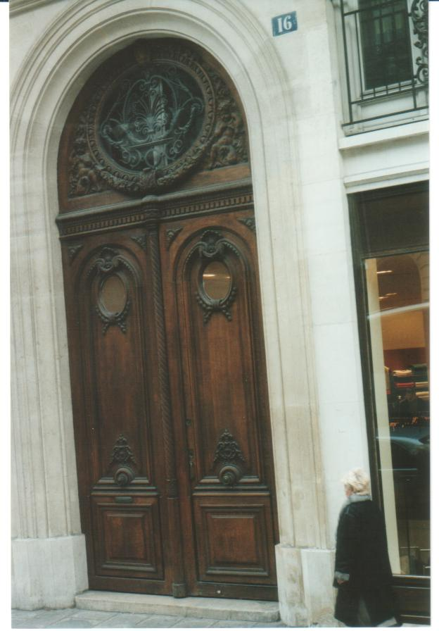 "The  ""Doors""  In Paris"