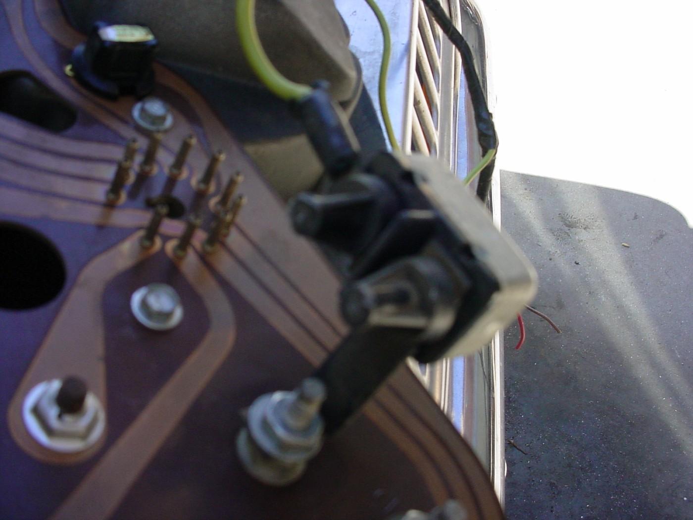 Dodge B-van Instrument cluster.