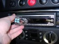 Front panel snaps in (surround was later removed)