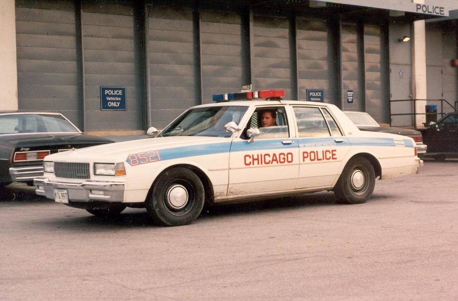 Photo 1990 Chevy Caprice Chicago Police Vehicles 1975