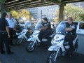 Cops on mopeds