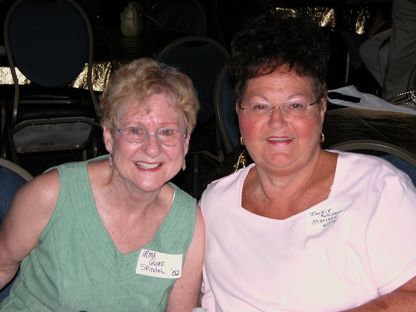 Irma Spindel, Jackie Maloney