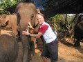 Mae Ping Elephant Camp near Chiang Mai in Northern Thailand Day 12 Feb 23-2006 (7)