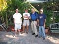 Farewell to my hostel mates!!!  Joe, Steve and George!!!  Cheers Guys,,,  Gary