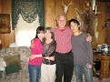 Hiromi, Hazel, me and Soji...