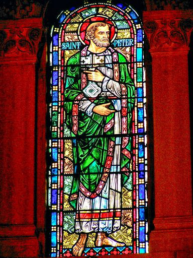 SAINTS PETER AND PAUL CHURCH - STAINED GLASS - 62