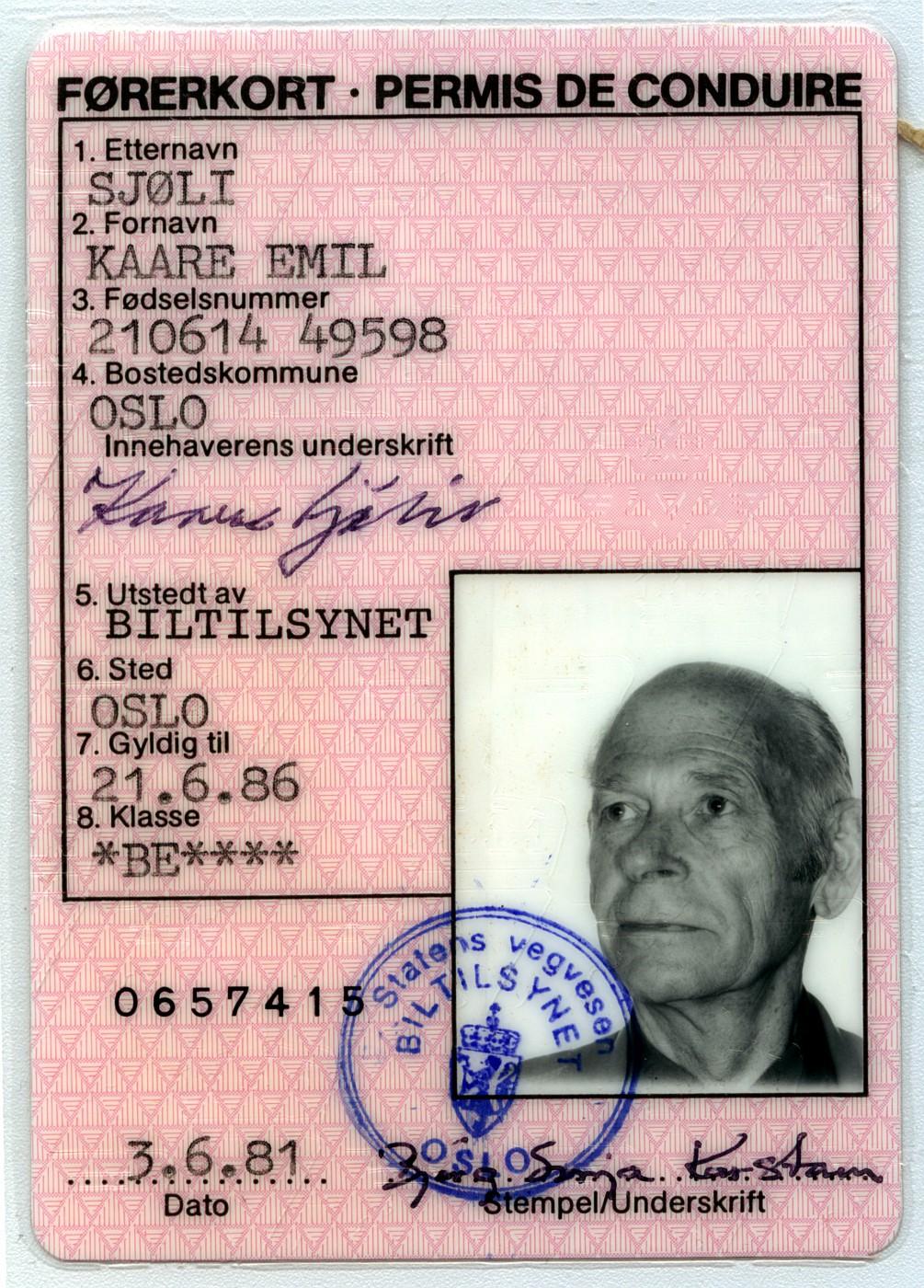 førerkort