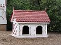 LA Arboretum Queen Anne Coach Barn Dog House1