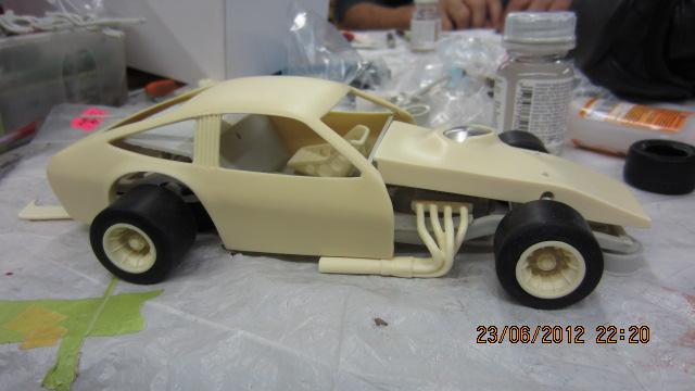 """1975 SNRA Chevrolet Monza Modifié asphalte Le """"DRIVE-SHAFT"""" !!!! Photo2-vi"""