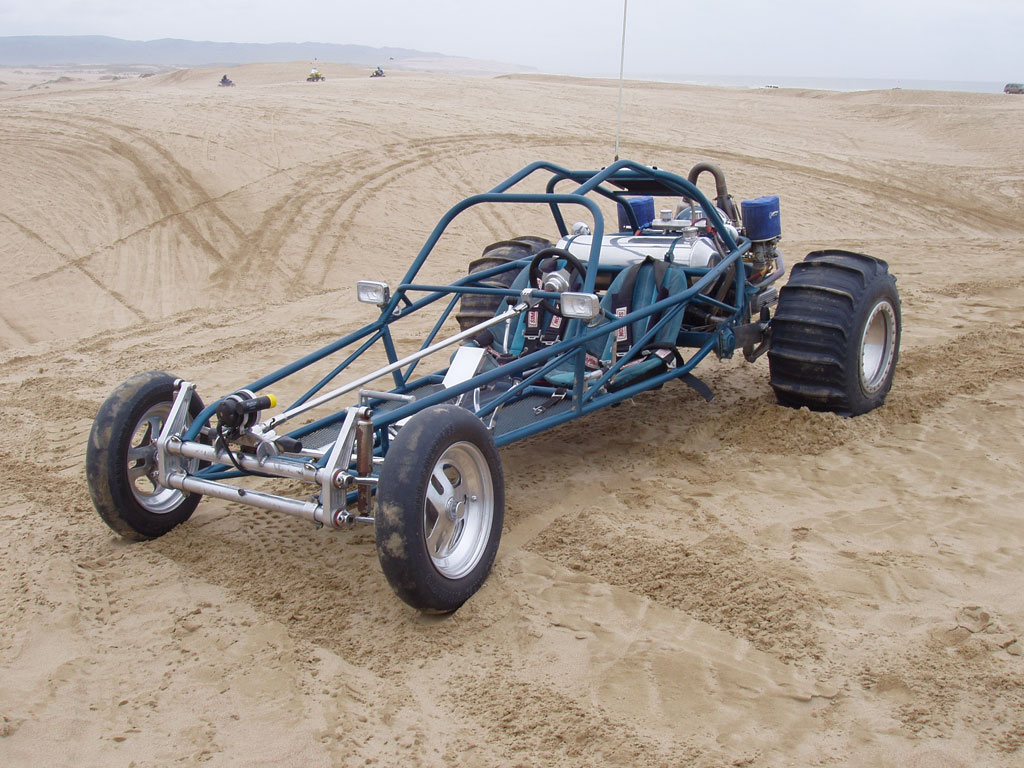 Photo: blue light rail 4b | V W  Dune Buggy-Sand Rail album