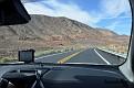Vi åker Arizona State Route 64 genom Navajo reservatet.