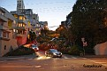 Lombard street, San Francisco, California.