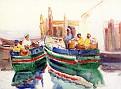Fishing Boats at Dock [c.1905-10]