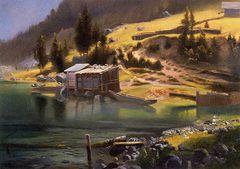 Fishing and Hunting Camp, Loring, Alaska [1889]