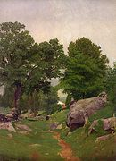 Corner of the Farm [1865]