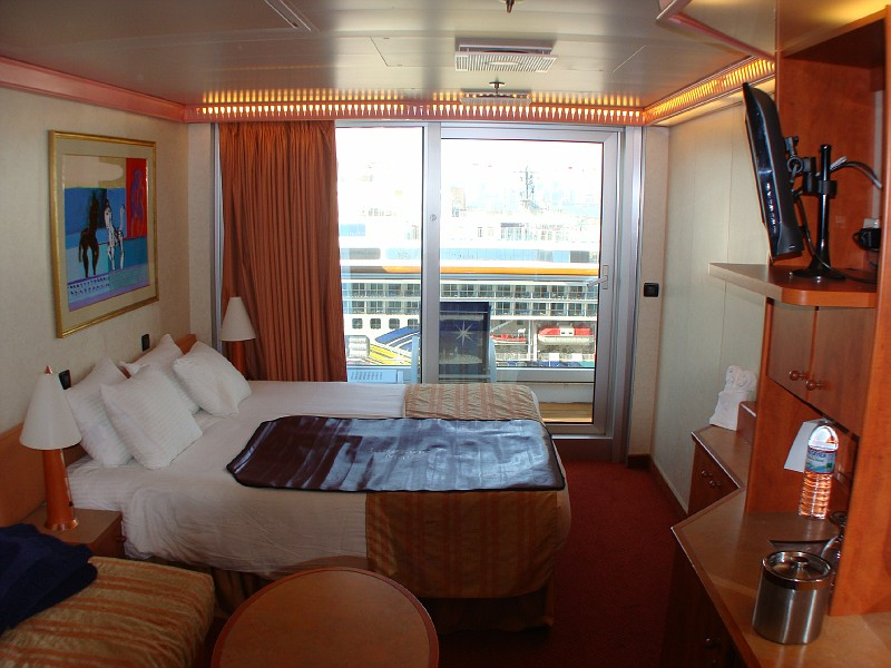 Photo Spa Deck Balcony Cabin 8f Carnival Glory Cabins