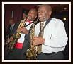 Les deux frères saxophonistes Doudou et Loubert.