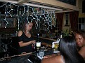 The bar at the Mixed Notes Cafe.