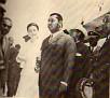 Mme A. Somoza au bras de Jn. Claude Duvalier.
