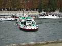 Bateaux-mouches sur La Seine.