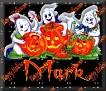 3 Ghosts & pumpkinMark