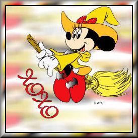 Minnie as witchTXOXO