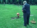 2010 11 10 2 Dad visiting mum's grave