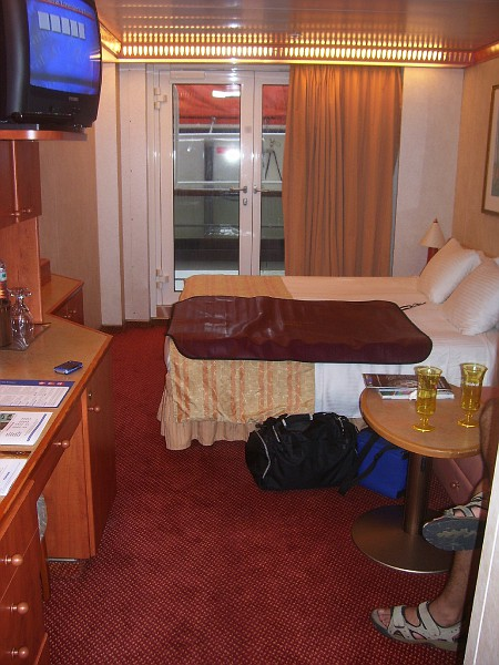 Carnival Pride French Door Cabins Cruise Critic Message
