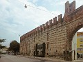 Verona town wall