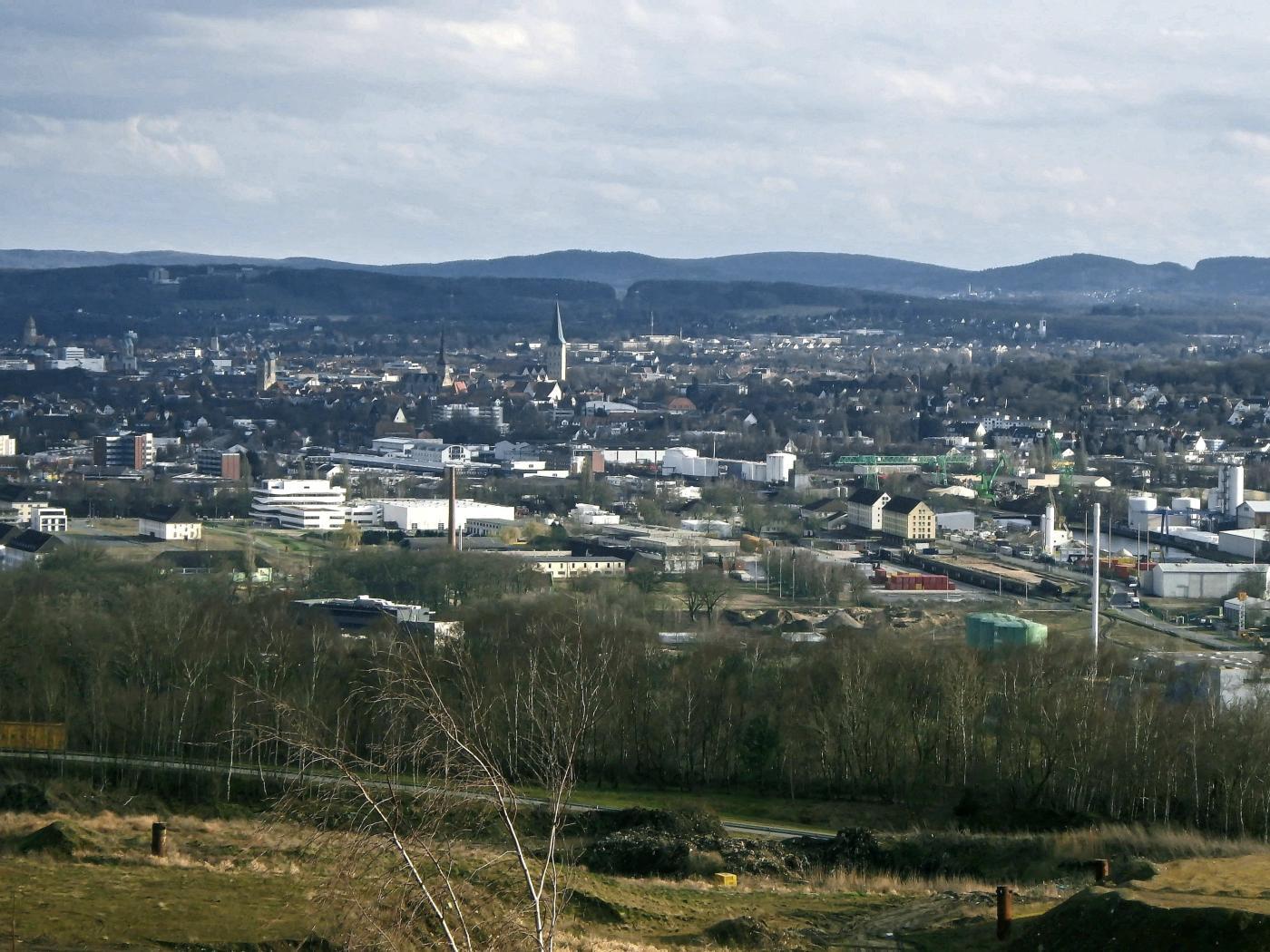 Blick in Richtung Osnabrück