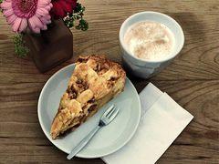 Koffie met Appelgebak