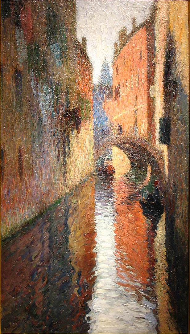 Guarisco Galleries Put Up For Sale A Painting of Henri Martin Le Port de Collioure, Valued At $ 825,000