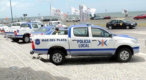 Argentina - Mar del Plata Policia Local