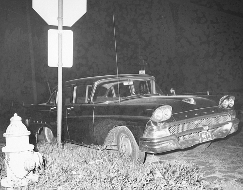 OH - Cleveland Police 1958 Ford