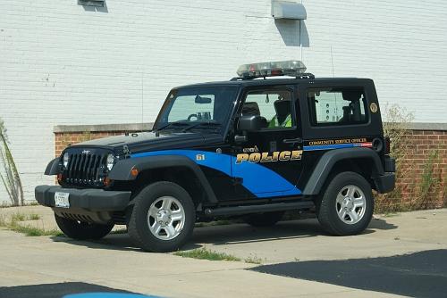 IL- Geneva Police 2010 Jeep
