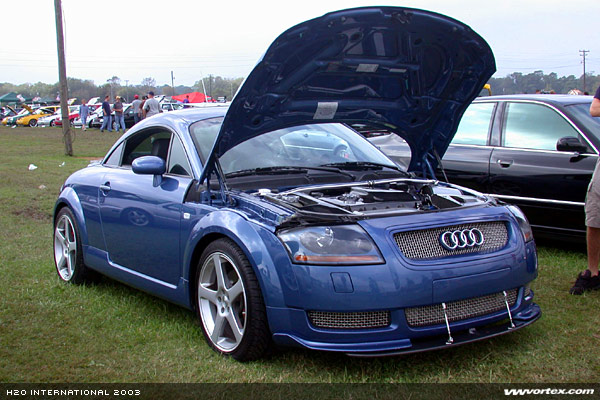 Can people post pictures of heavily modified TT's with both engine
