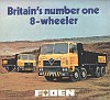 Britains Number One 8 Wheeler