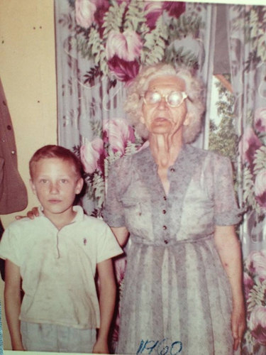 James Crabtree, and Nora (BAIRD) Lay - about 1960