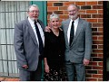 Brothers & sister: Doran, Sharon, and Dale Abernathy