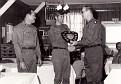 LTC. Mitchell.  SFC E. Ray. 1st Bde Commander