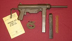 M3-SMG - Submachine gun.