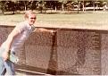 Me at Vietnam Veterans Memorial in DC.
