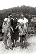 #12-Kenneth, Mary, Pearlie (mom), and E. Ray Austin