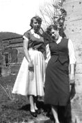 #18-Jean and Mary at the Old Lumber Mill at Norma