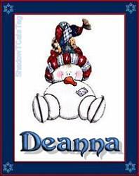 Deanna SnowmanSkating011212STC