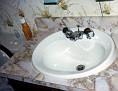 En suite bathroom sink, JUL 1978