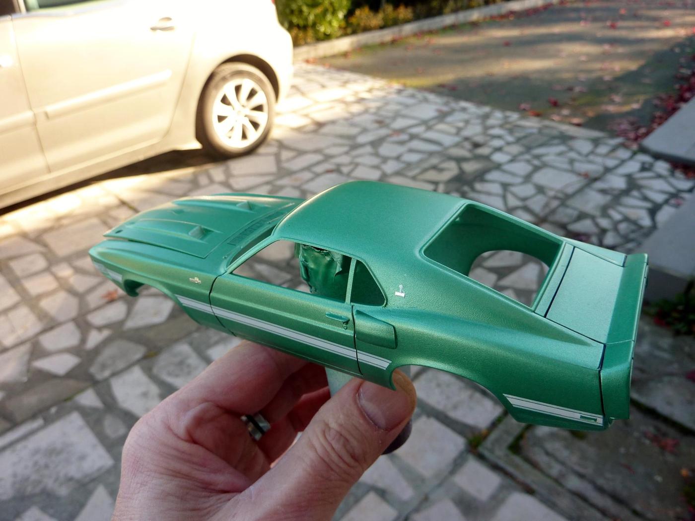 projet Mustang shelby gt 500 1969 terminée Photo-vi